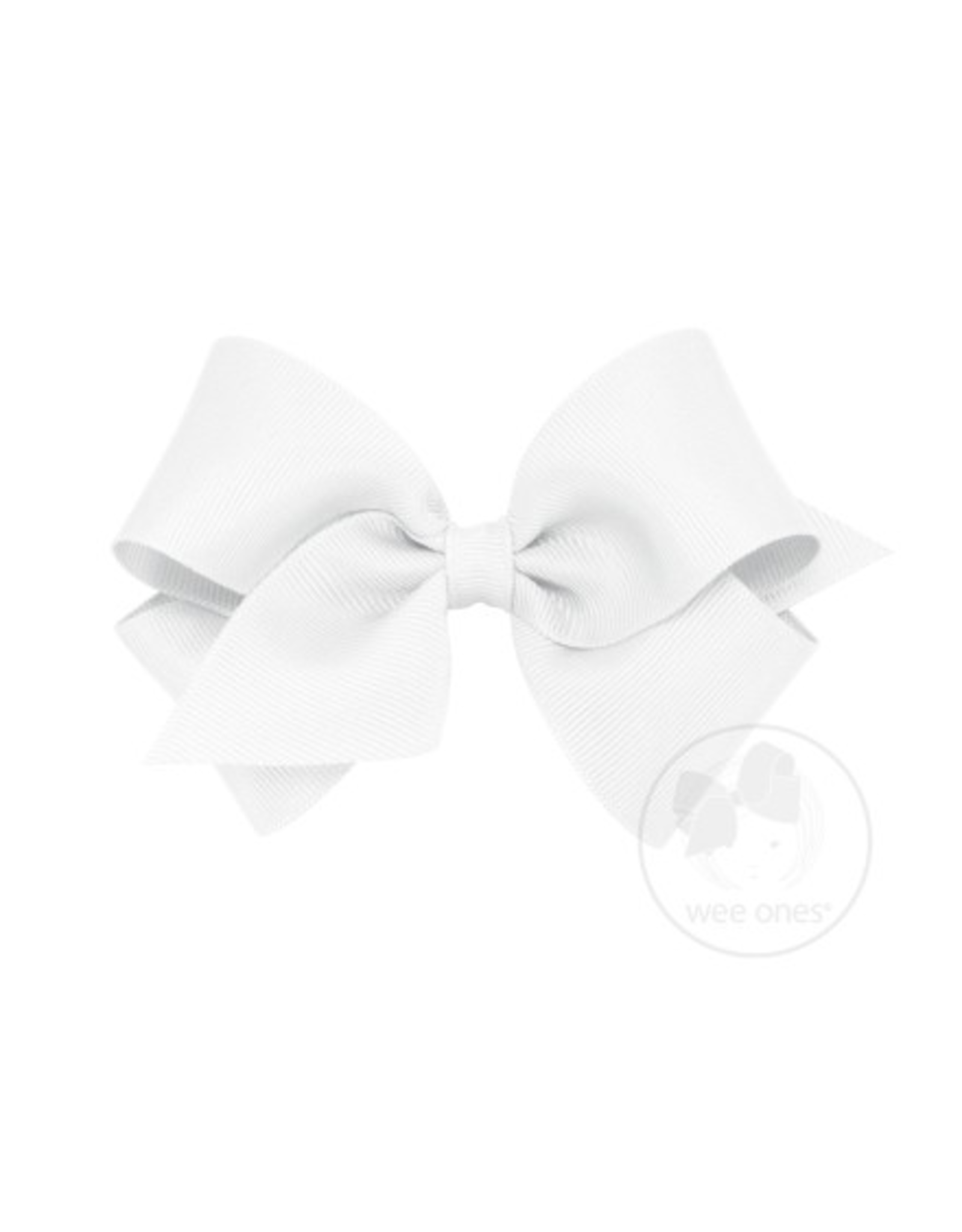 Wee Ones Wee Ones Small Bow in White