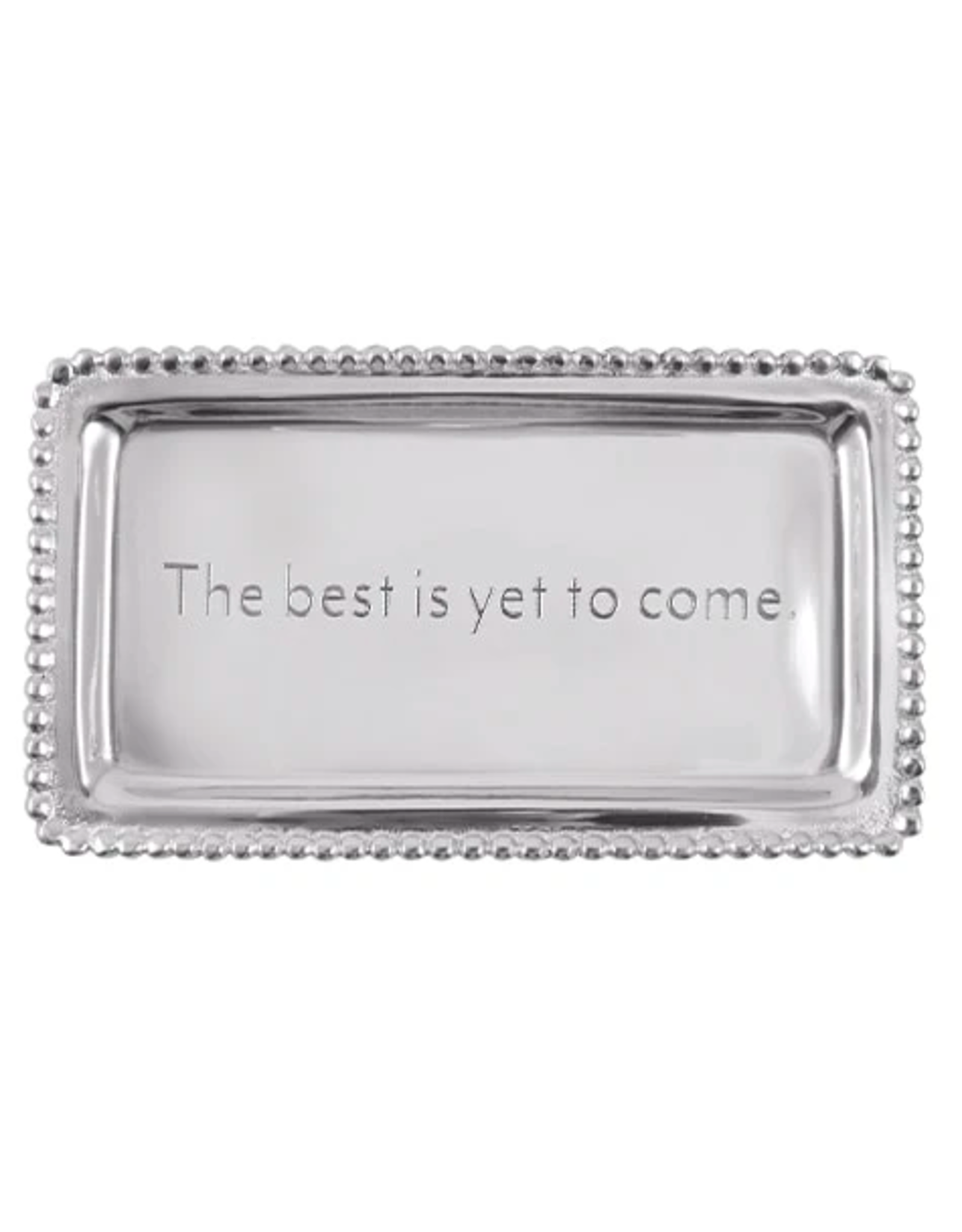 Mariposa The Best Is Yet To Come Beaded Tray