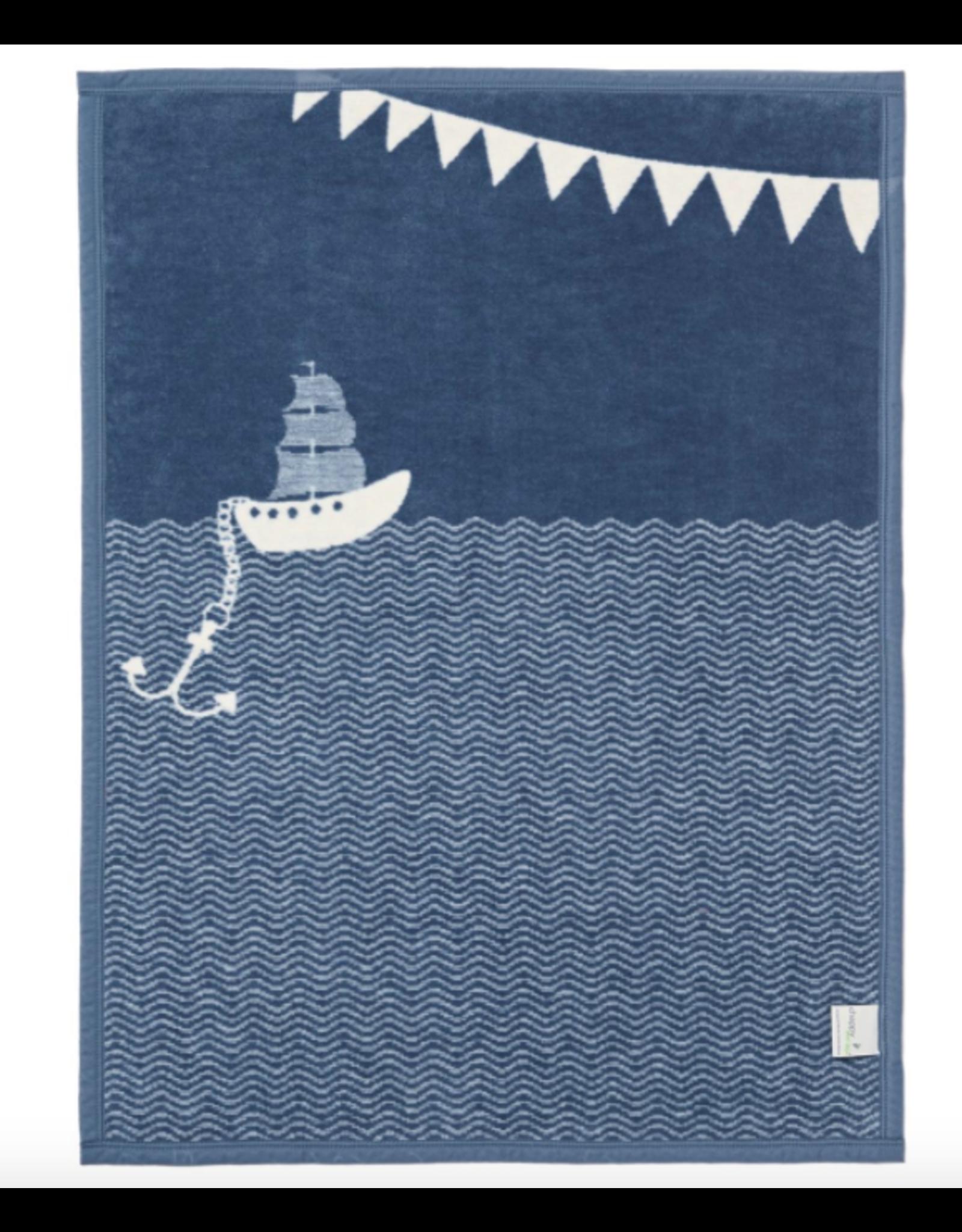 ChappyWrap Ahoy Matey Mini Blanket by ChappyWrap