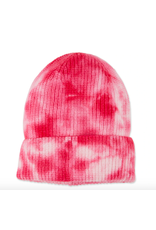 Tie-Dye Beanie in Pink