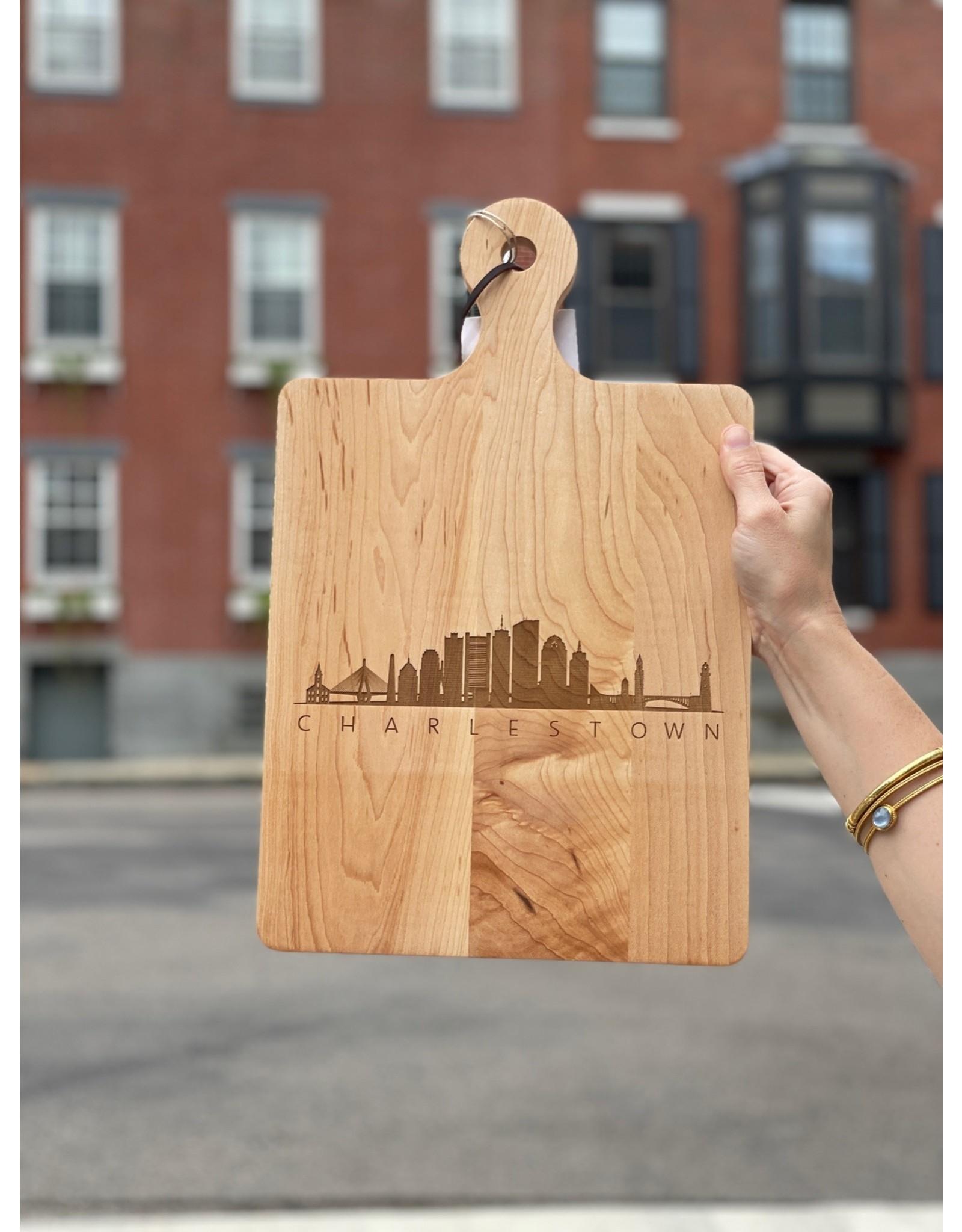 Maple Leaf at Home Skyline Handled Maple Artisan Board 16x10