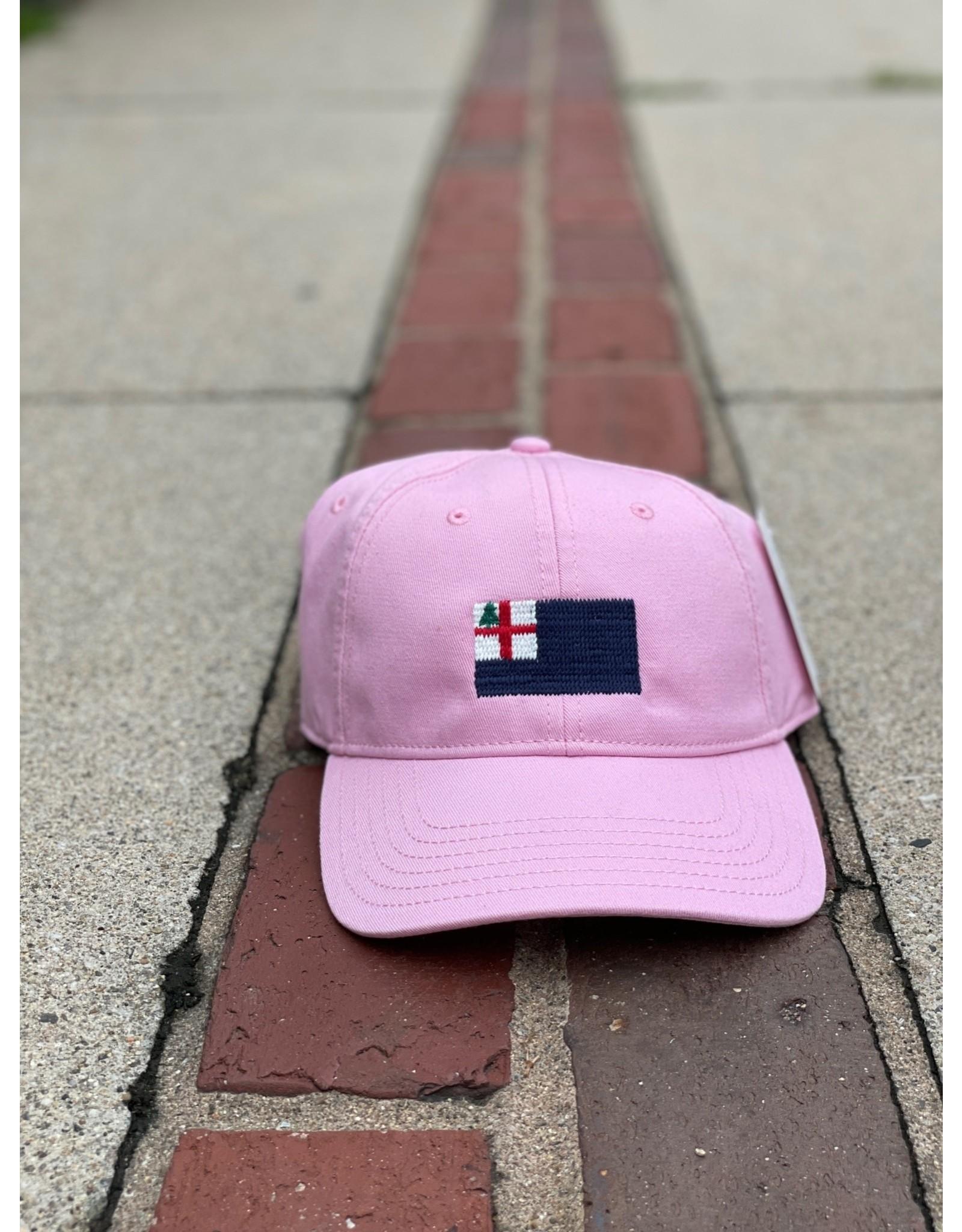 Harding Lane Bunker Hill Flag Hat - Adult Pink