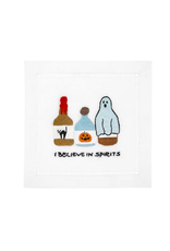August Morgan I Believe in Spirits Cocktail Napkins