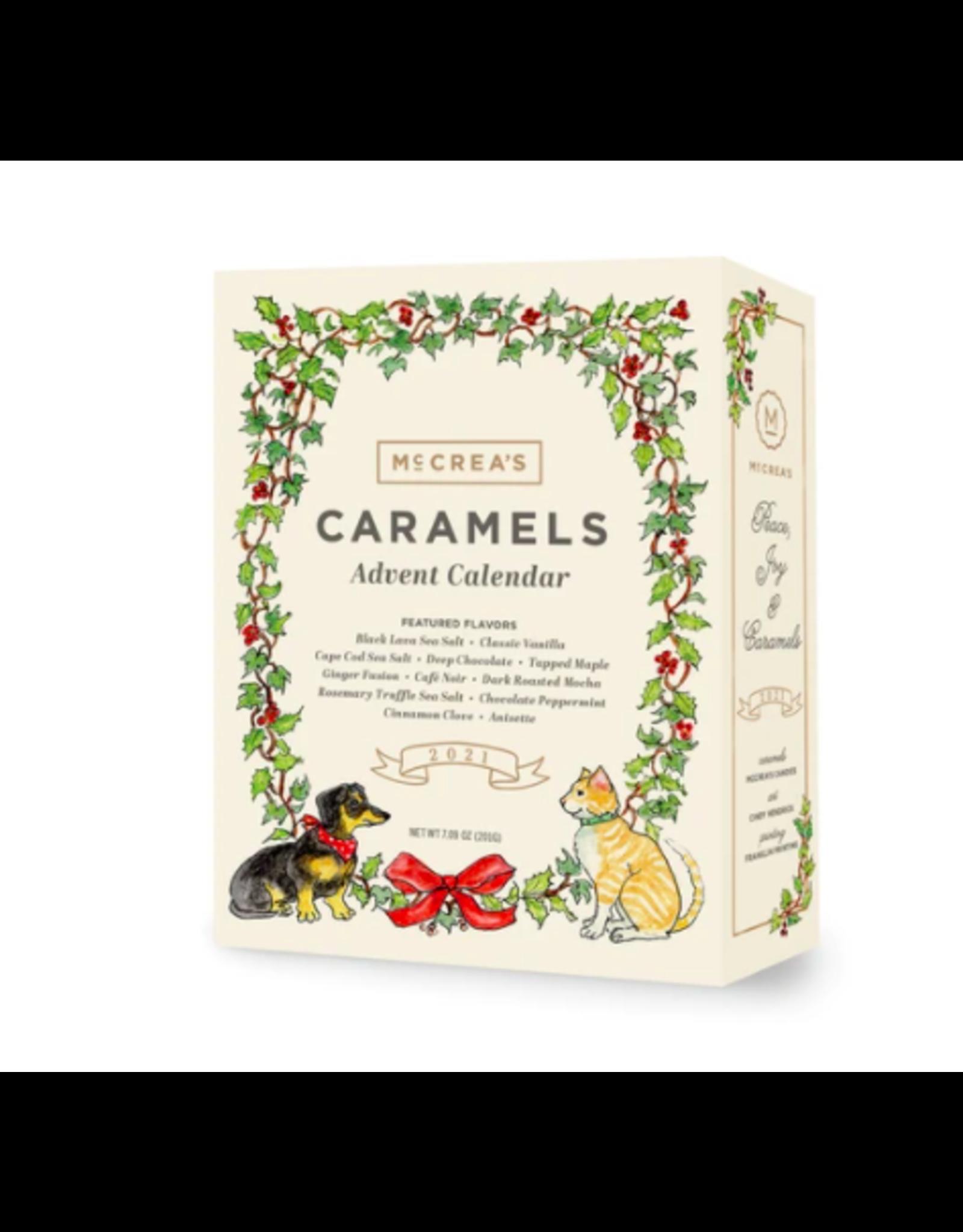 McCrea's 2021 Advent Calender of Caramels