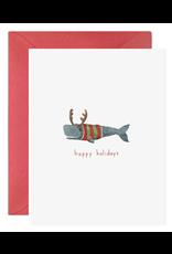 E. Frances Christmas Whale  Boxed Notecard Set