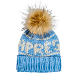 Shit That I Knit Apres Beanie in Sky Blue