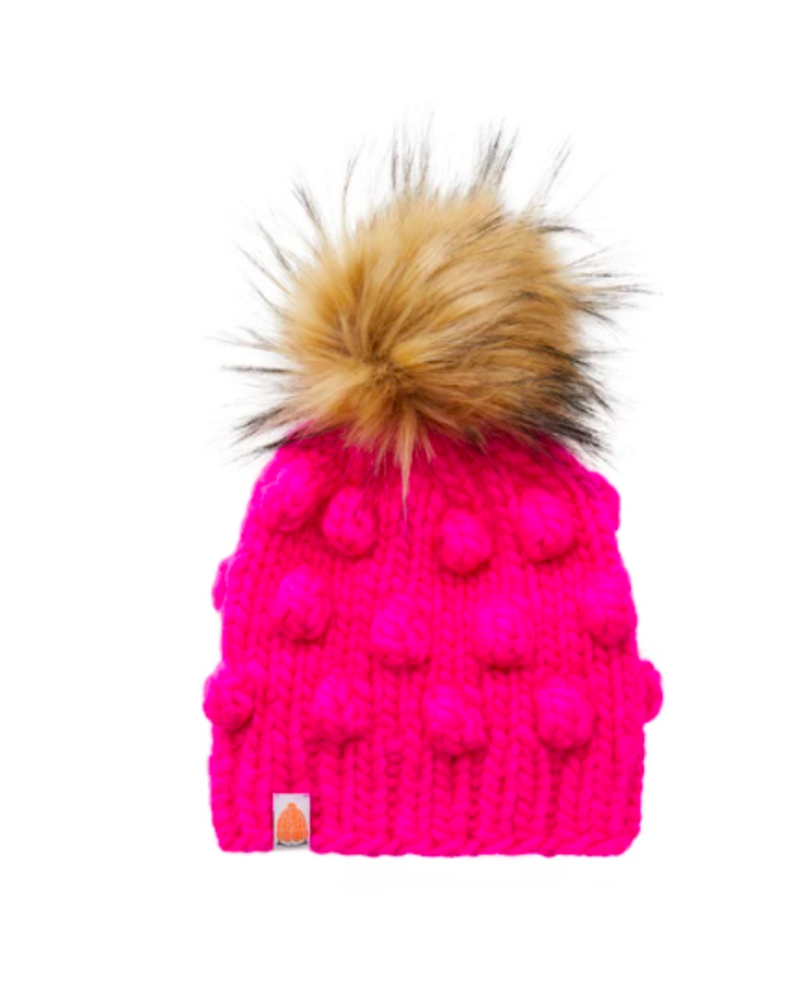 Shit That I Knit Lil Campbell Beanie in Hot Pink