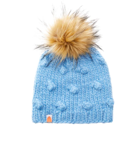 Shit That I Knit Campbell Beanie in Sky Blue