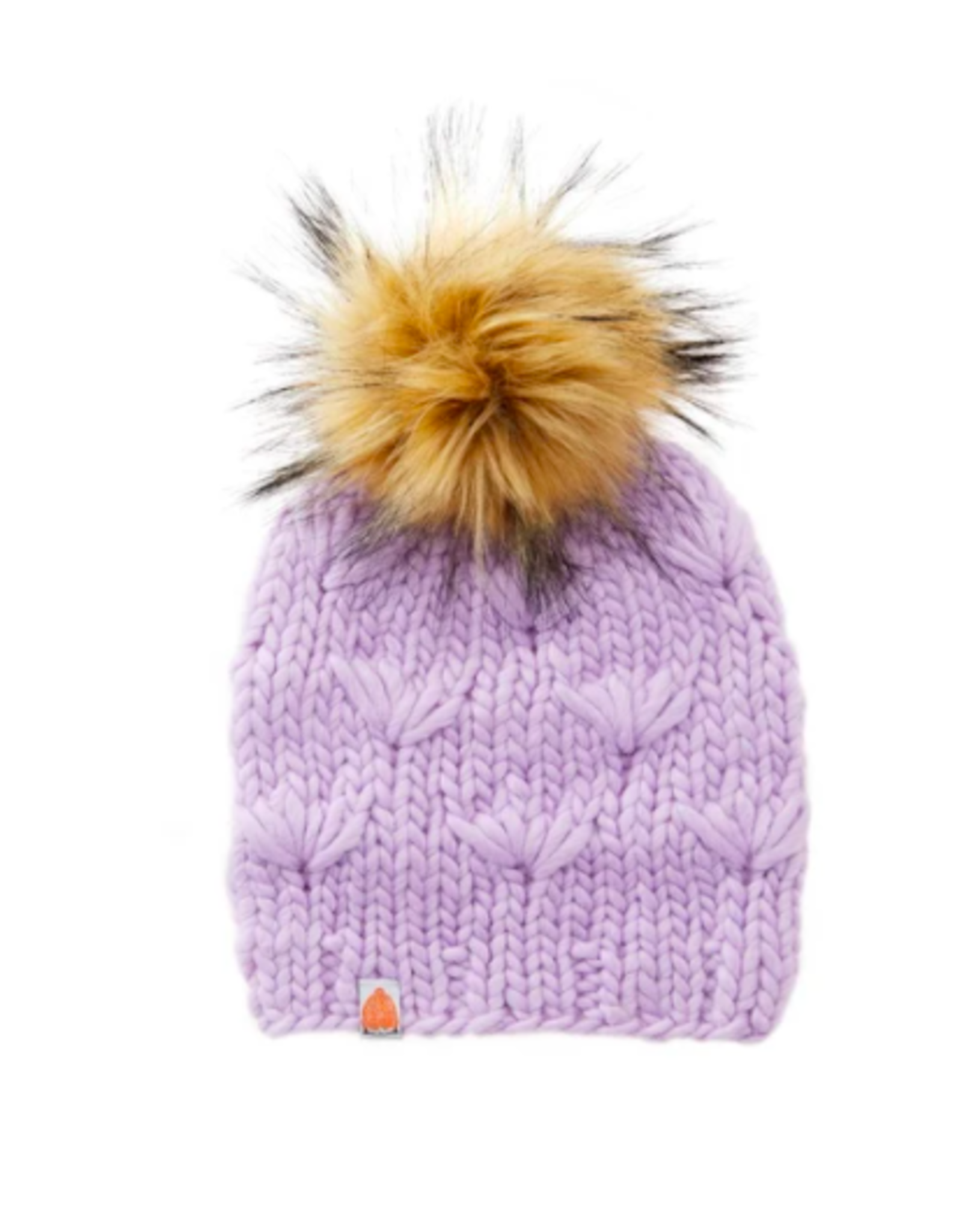 Shit That I Knit Motley Beanie in Lavender