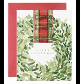 E. Frances Plaid Ribbon Boxed Notecard Set