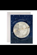 E. Frances Santa Moon Boxed Notecard Set