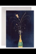 E. Frances Flying Corks Card