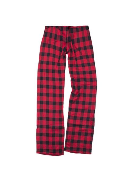 Boxercraft Monogrammed Buffalo Plaid Pant