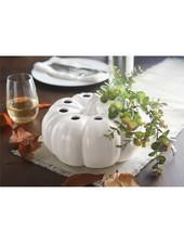 Mudpie Pumpkin Bud Vase