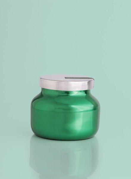 Capri Blue Volcano Petite Green Jar