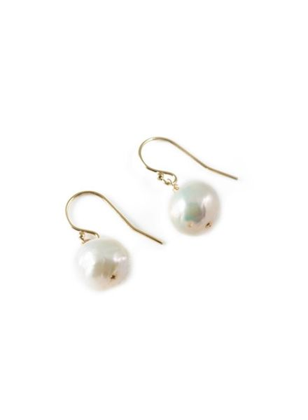 Sea Lustre Pearl Drop Earrings