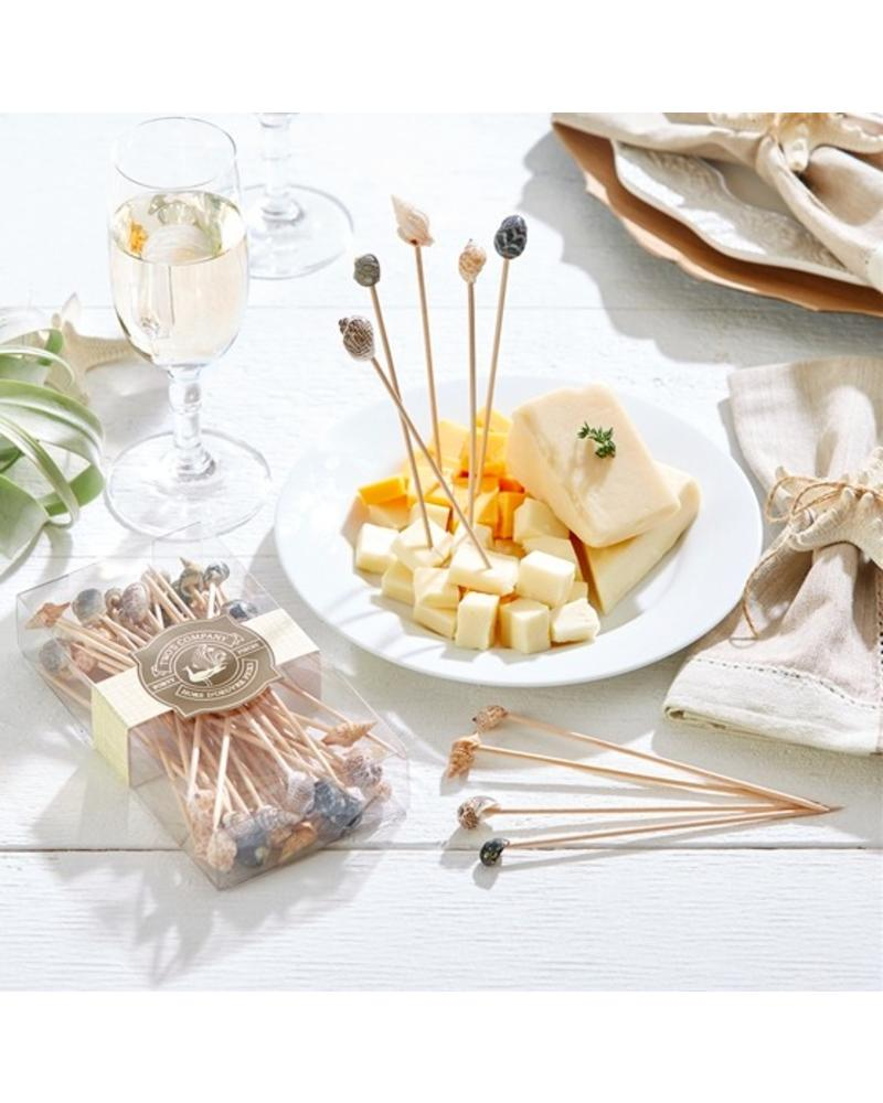 Two's Company Tall Seashell Hors D'Oeuvre Picks