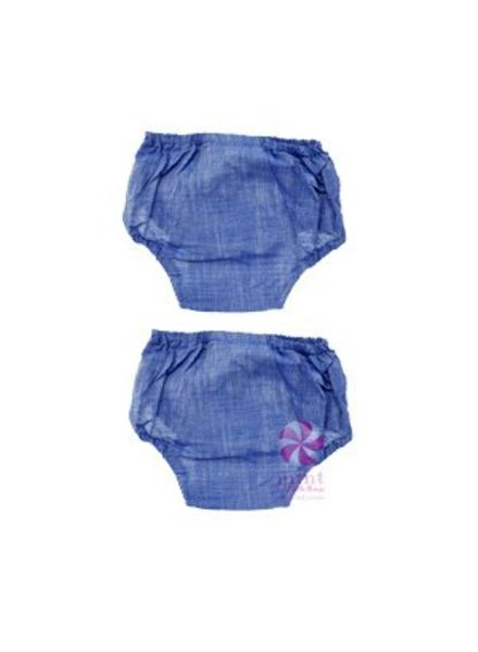 Mint Chambray Bloomers
