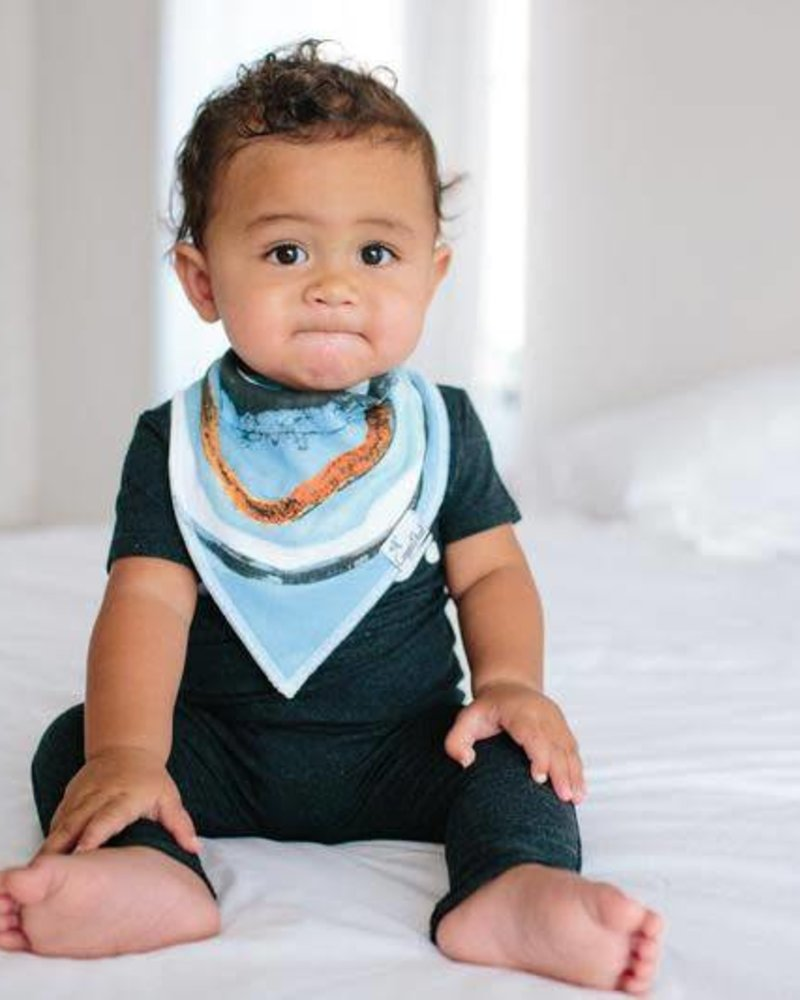 Copper Pearl Arctic Bandana Bib Set