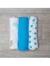 Mary Meyer Blue Muslin Blanket Set