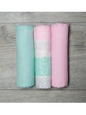 Mary Meyer Pink Muslin Blanket Set
