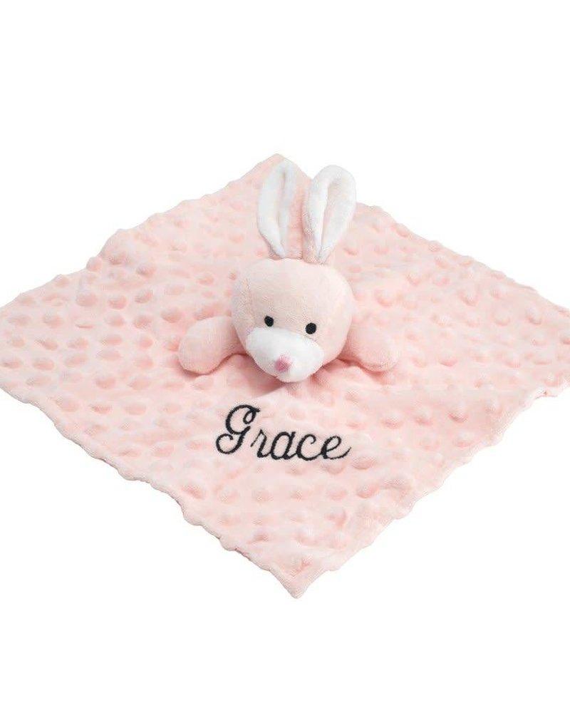 Elegant Baby Pink Bunny Lovie