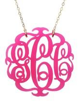 Moon and Lola Moon & Lola Paris Monogram Necklace