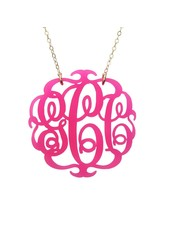 Moon and Lola Moon & Lola Paris Monogram Necklace