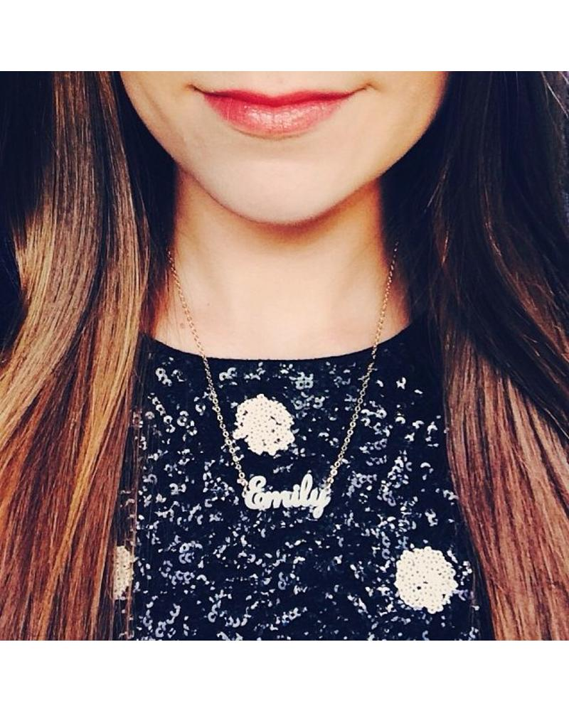 Moon and Lola Moon & Lola Nameplate Necklace