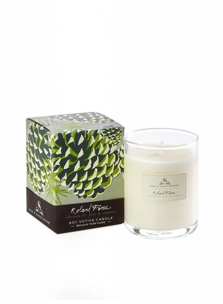 Soap & Paper Factory Roland Pine Votive Candle