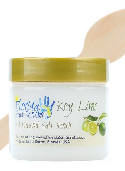 Florida Salt Scrubs Small Key Lime Salt Scrub