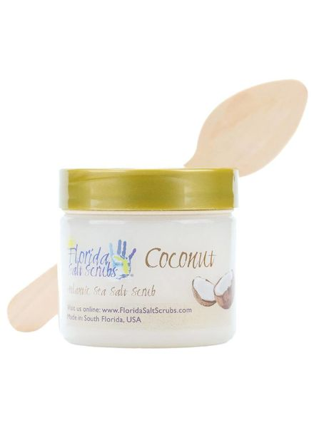 Florida Salt Scrubs Small Coconut Salt Scrub
