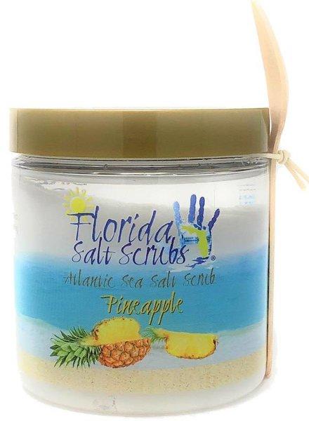 Florida Salt Scrubs Medium Pineapple Salt Scrub