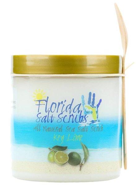 Florida Salt Scrubs Medium Key Lime Salt Scrub