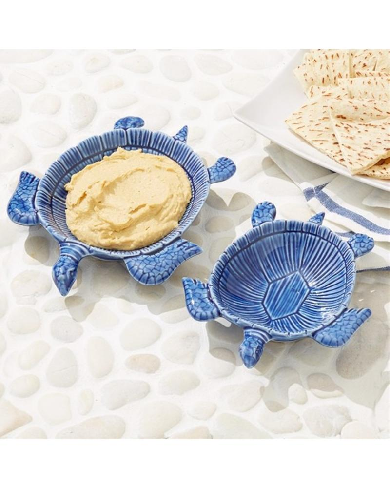 Two's Company Set of Two Turtle Bowls