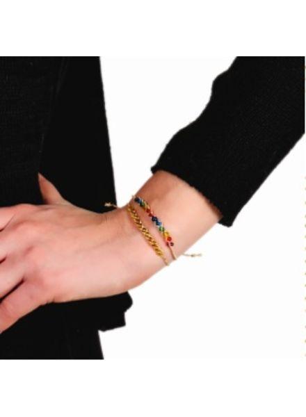 Two's Company Wish Bracelet