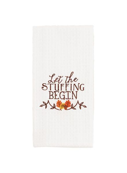 Mudpie Let The Stuffing Begin Towel
