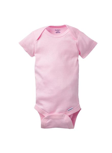 Boxercraft Monogrammed Pink Bodysuit