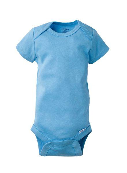 Boxercraft Monogrammed Baby Blue Bodysuit