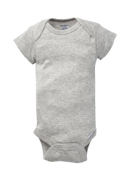 Boxercraft Grey Onesie Bodysuit