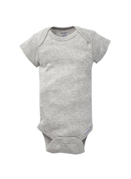 Boxercraft Monogrammed Grey Bodysuit