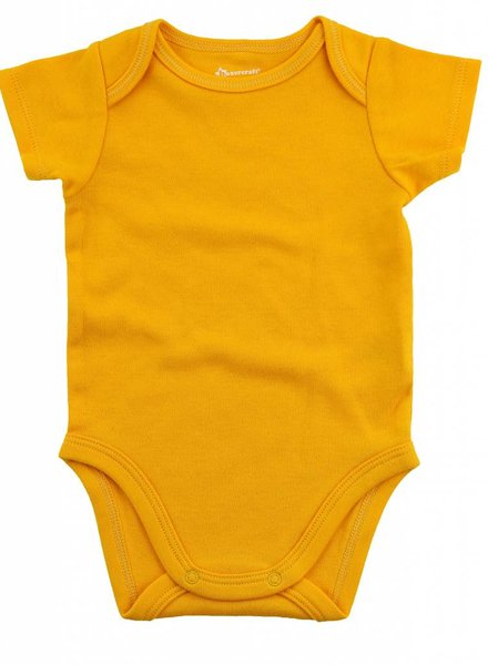 Boxercraft Yellow Onesie Bodysuit