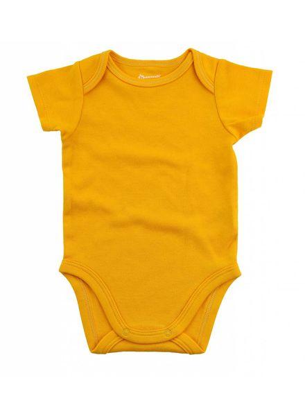 Boxercraft Monogrammed Yellow Bodysuit