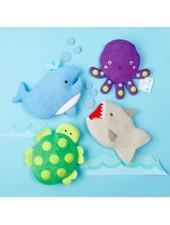 Two's Company Sea Life Bath Mitt