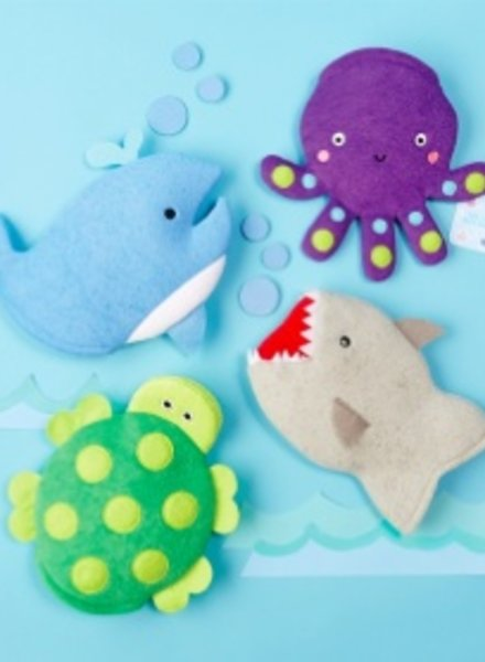 Two's Company Sea Life Bath Mitt