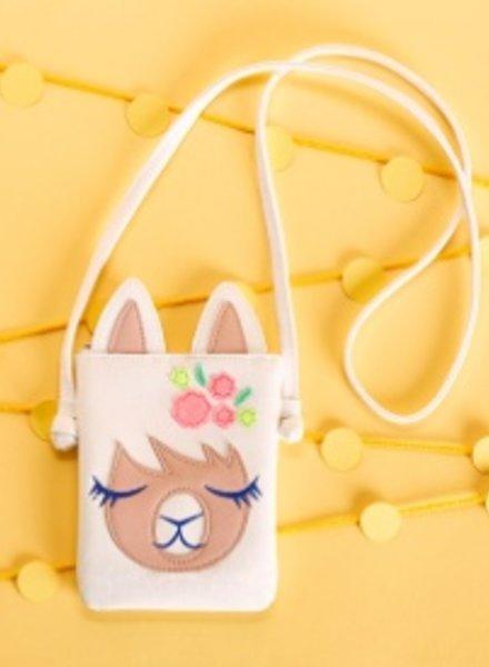 Two's Company Llama Crossbody Bag