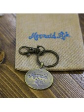 Mermaid Life Mermaid Life Medallion Key Chain