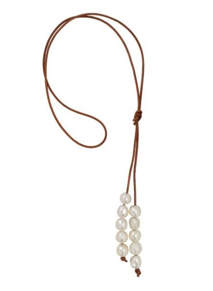 Sea Lustre Meraki Lariat Necklace