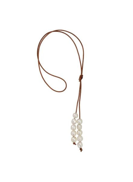 Sea Lustre Meraki Lariat Necklace - 3 Color Options