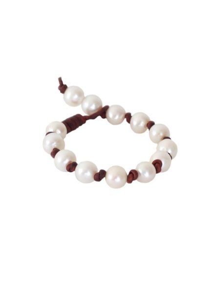 Sea Lustre Eternity Pearl Bracelet - 2 Color Choices